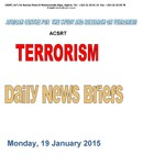 Daily News Briefs 19-01-2015