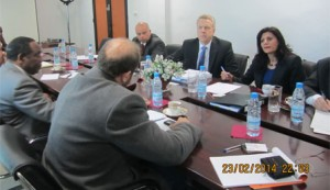 German delegation visit