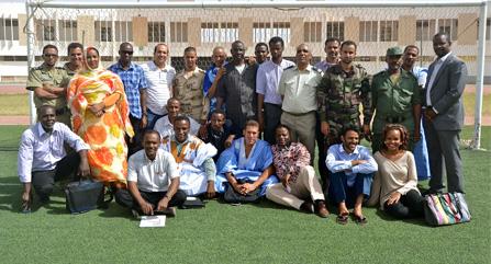 Mauritania training