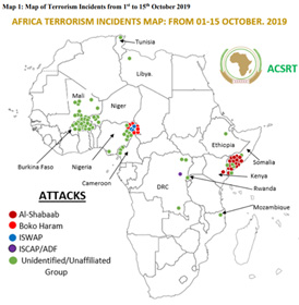 AFRICA RECORDED A TOTAL OF 86 TERRORIST ATTACKS RESULTING IN A ...
